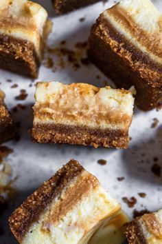 These Salted Caramel Swirl Cheesecake Bars are made with a buttery graham cracker crust and a tasty cheesecake layer swirled with homemade caramel.  These Salted Caramel Swirl Cheesecake Bars are made with a buttery graham cracker crust and a tasty cheesecake layer swirled with homemade caramel. #homemadegrahamcrackercrust These Salted Caramel Swirl Cheesecake Bars are made with a buttery graham cracker crust and a tasty cheesecake layer swirled with homemade caramel.  These Salted Caramel Swirl #homemadegrahamcrackercrust