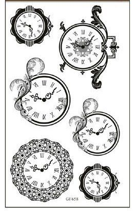 Free Clock Tattoo Designs Tattoobite Com Clock Tattoo Design Clock Tattoo Clock