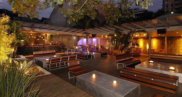 00 Zero Zero Rio De Janeiro Nightclub Bar Outdoor Seating