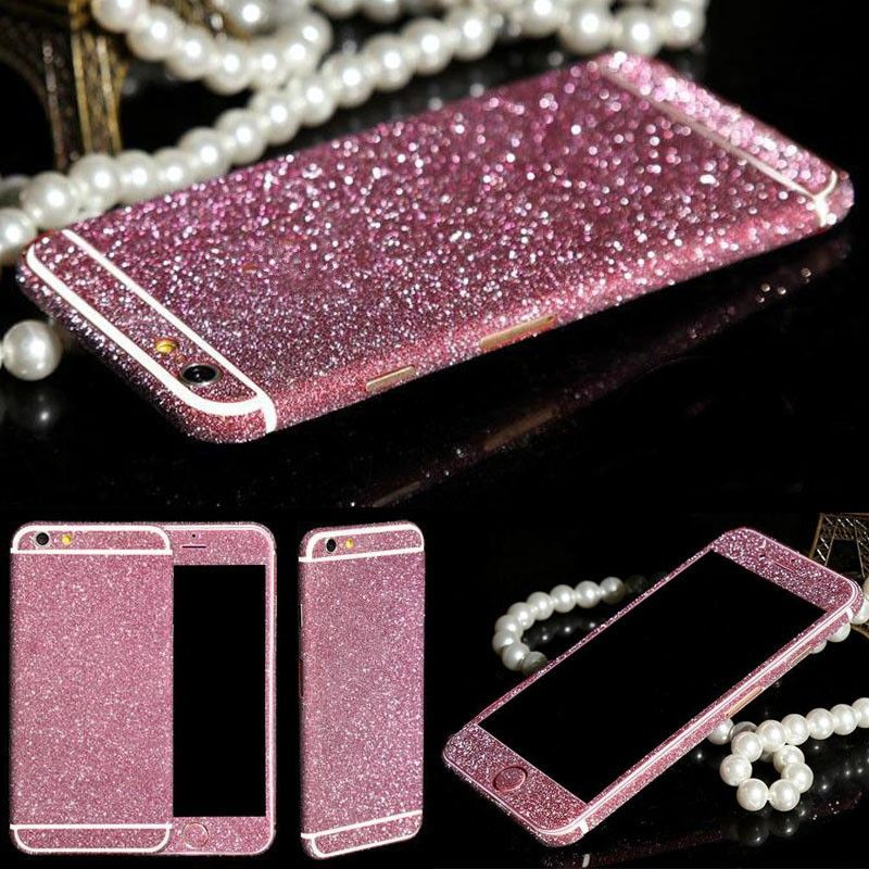 buy popular de95f c6349 Glitter sticker case for iphone 6s 6 4.7 luxury fashion with ...