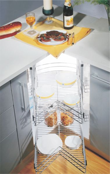 Best Magic Carousel Unit W6 Baskets Pull Out Unit For L Shaped 400 x 300