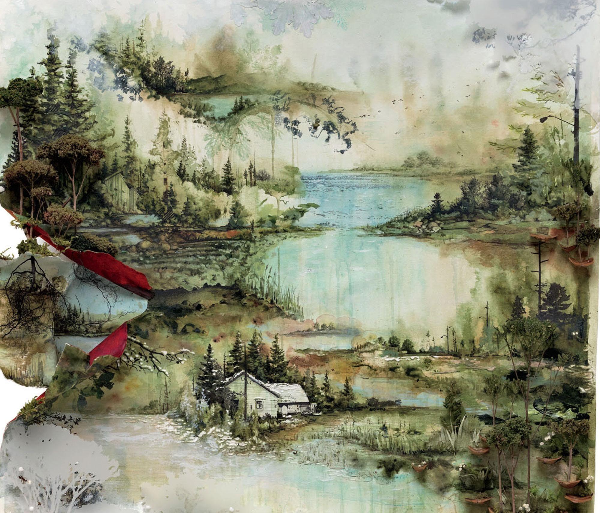 Bon Iver Album Art Graphic Design Album Art Best