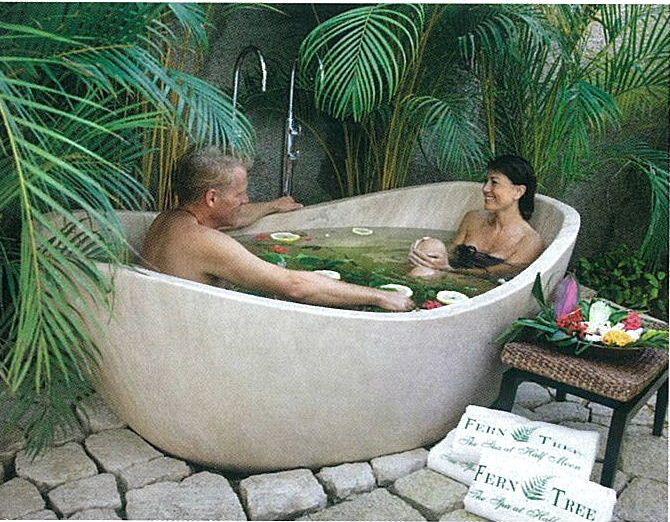 Custom Stone Bathtub   Deep Stone Soaking Tub   Travertine Bath Tub ...