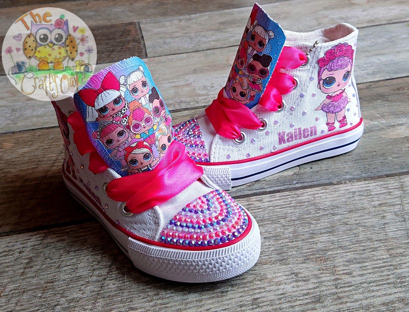 Custom Lol Doll High Top Sneakers Shoes
