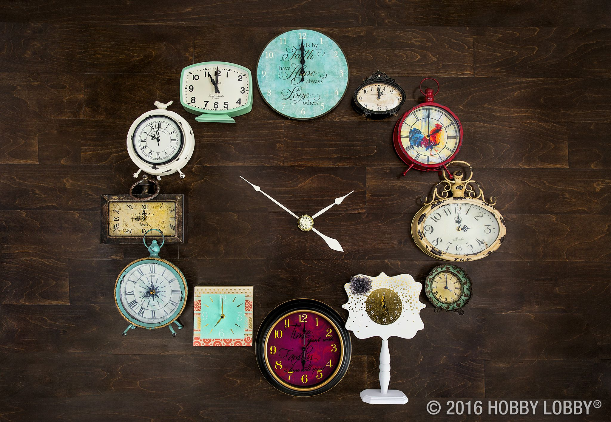 Add Style To Your Wall In No Time At All! Which Clock Fits Your Style