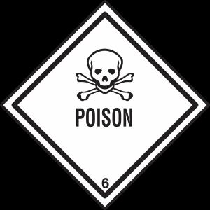 Poison Danger Symbol Toxic Aggressive Passive Aggressive