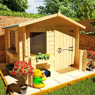 Playhouse Designs And Ideas image of diy playhouse kits for kids Playhouse Plans Treehouse And Playhouse Plans Childrens Playhouses And