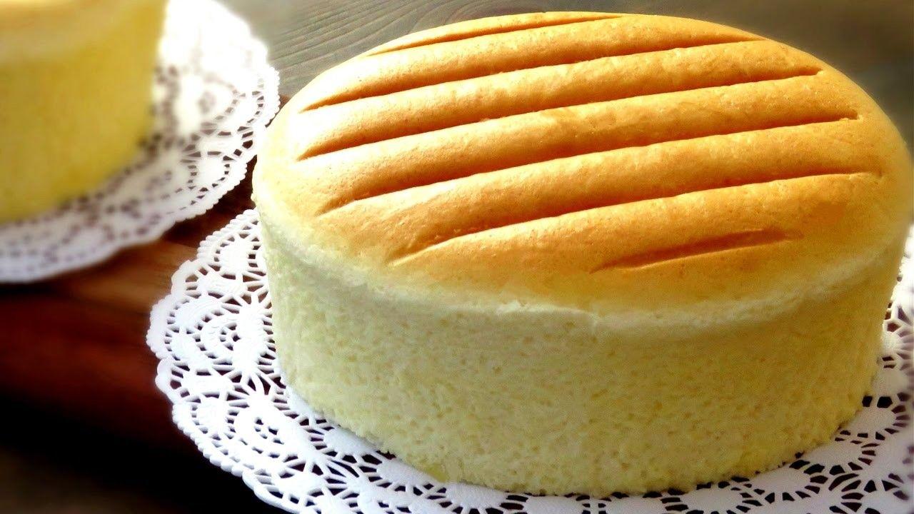 How To Steam Bake Sponge Cake Castella Cake Recipe 原味古早味蛋糕做法 Chewy Brownies Recipe Japanese Cheesecake Recipes Cheesecake Recipes