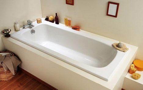 La baignoire à encastrer <span class=\