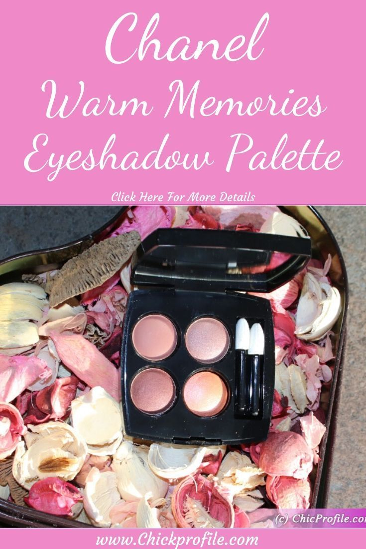 Chanel Warm Memories (354) Eyeshadow Palette Review