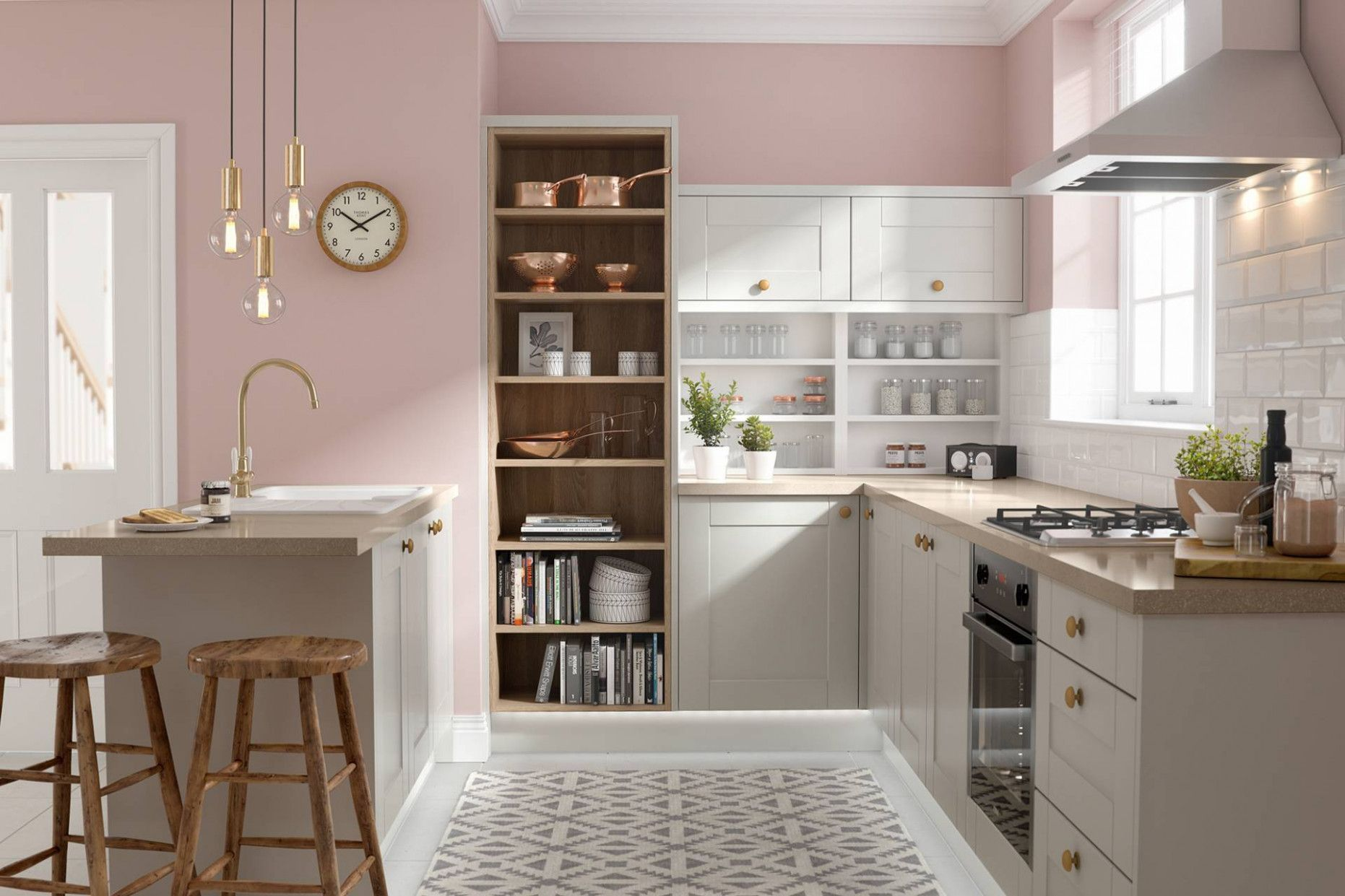 Online Modular Kitchen Design Tool Pink Kitchen Decor Grey Kitchen Designs Shaker Style Kitchens