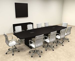 Modern Boat Shapedd 12 Feet Conference Table Of Con C65 Modern Conference Table Conference Table Table