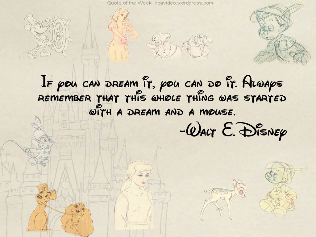 Disney. Cute Disney QuotesQuotes By ...