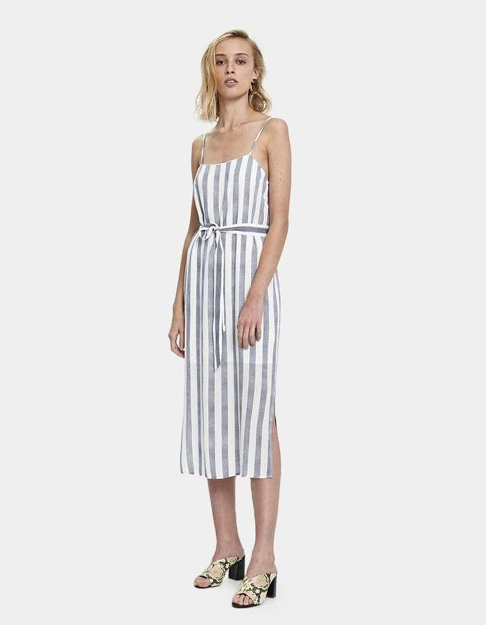 a90a9851d8d4 Stelen Tori Striped Dress #closure#tie#straps   women's fashion fall ...