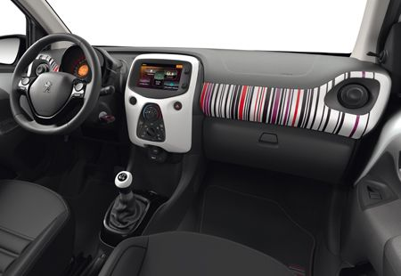 Barcode Modern Och Elegant Med 7 Olika Designteman Nya Peugeot