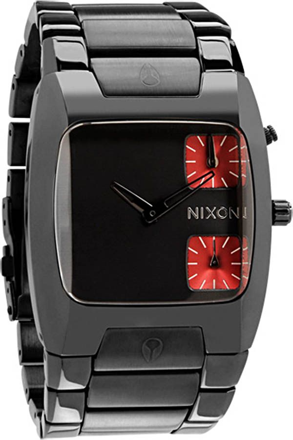 3819089d00b Nixon Banks Watch in Gunmetal -  399  nixon  watch  watches