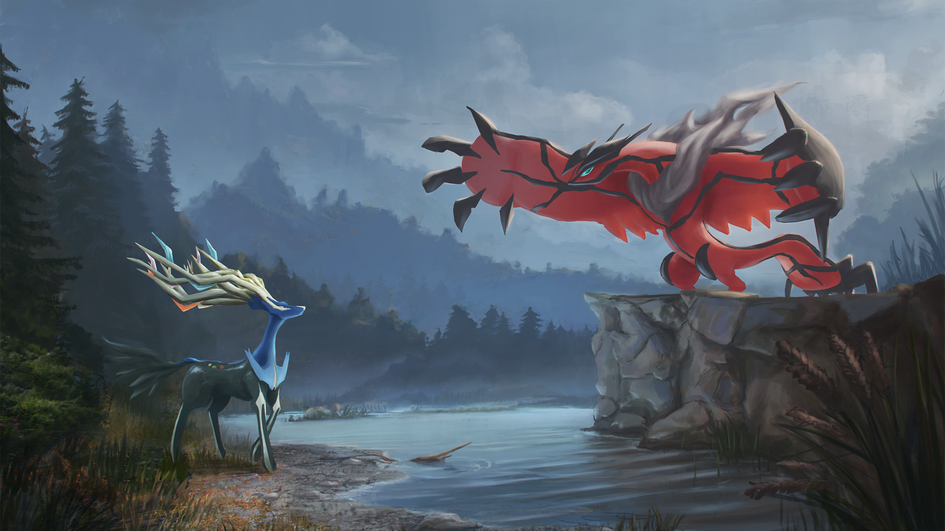 most beautiful pokemon art wallpaper background download