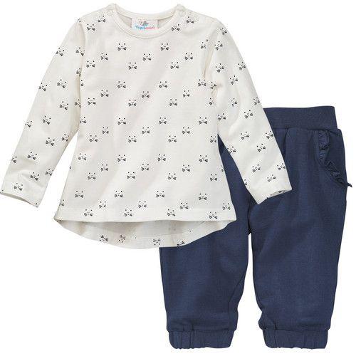 Newborn-Shirt und Jogginghose von Topomini für Mädchen bei Ernstings family jetzt aktuell