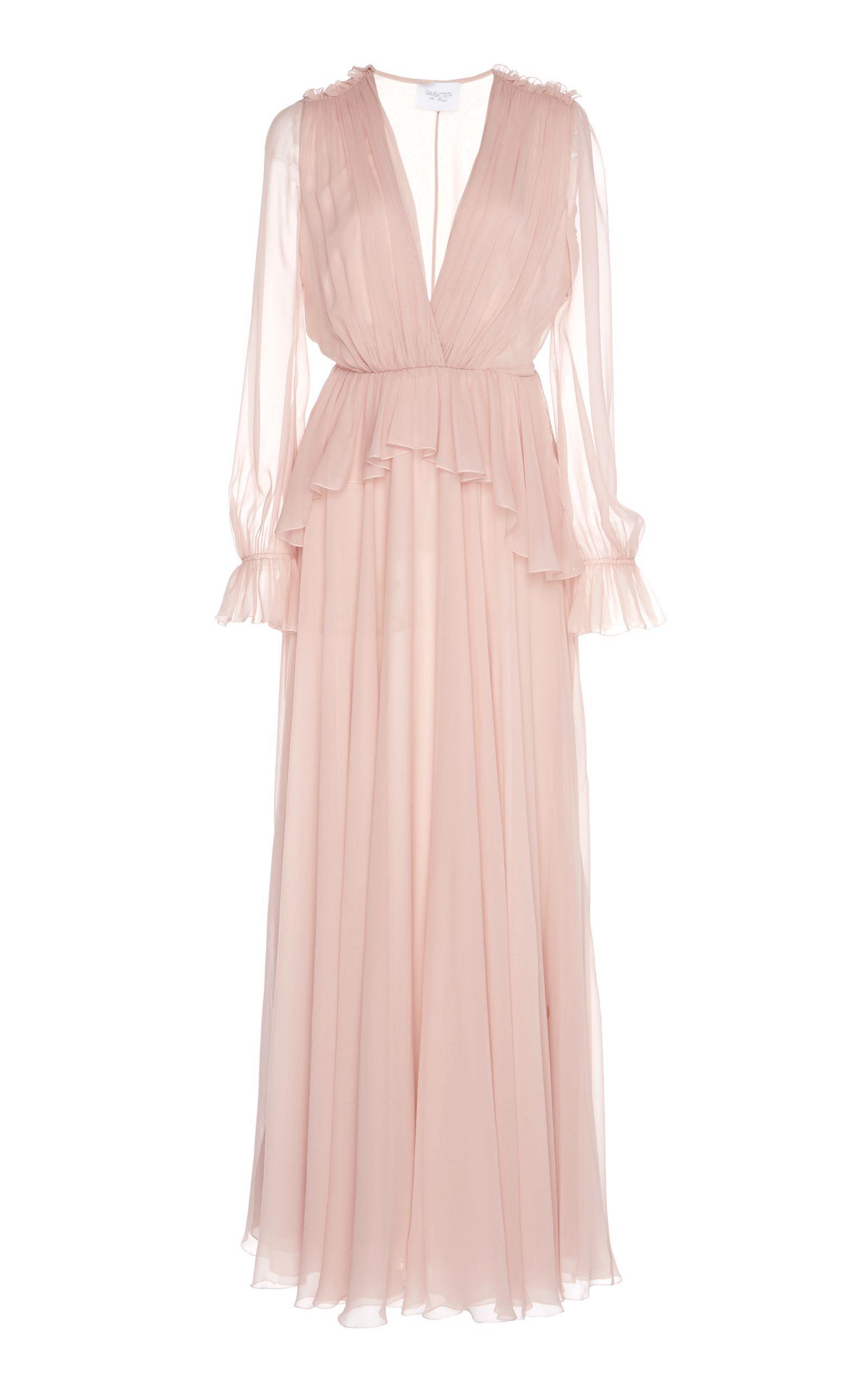 Giambattista Valli Peplum Waist Silk Dress   MIS EDICIONES ...