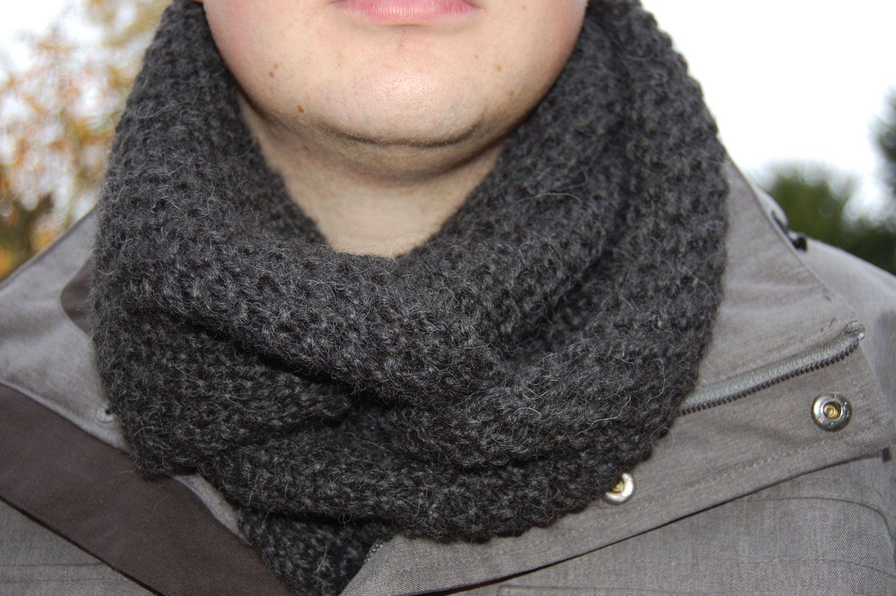 Anleitung: Schal stricken für Männer | Pinterest | Schal stricken ...