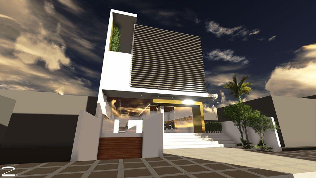 Edificio vivienda - comercio en la ciudad de Cochabamba, Bolivia. 2lineas Arquitectura