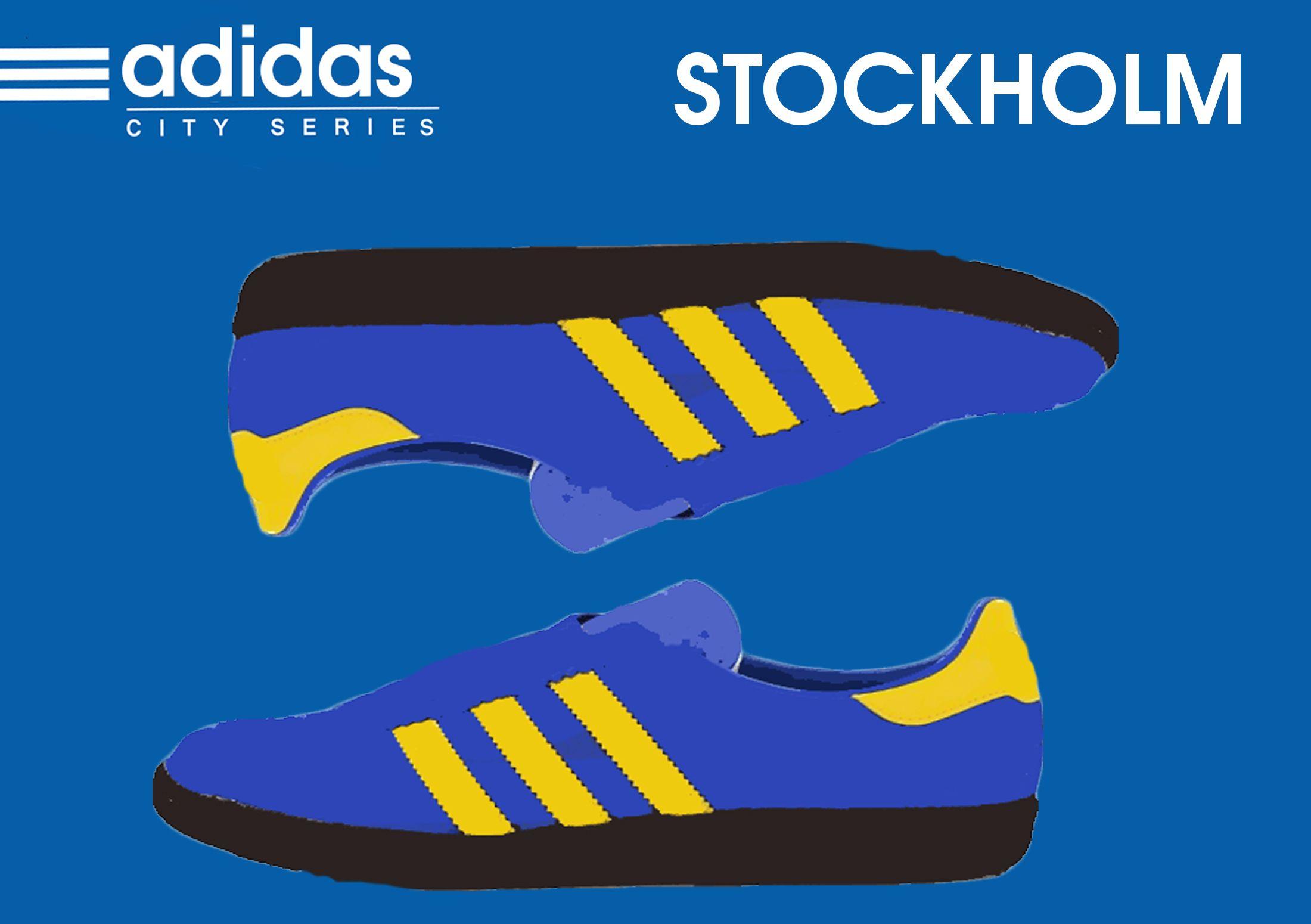 Adidas x Size? 2014 City Series Stockholm | Adidas di 2019