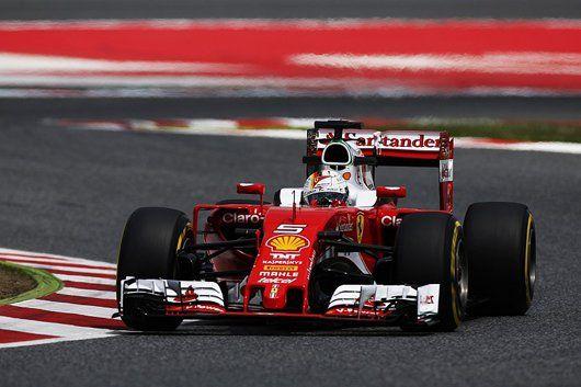 F1バルセロナ インシーズンテスト初日:セバスチャン・ベッテルがトップ  [F1 / Formula 1]