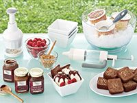 I love Pampered Chef® kitchen products and thought you would, too! March is introducing the Spring Catalog, with new items never seen before. Products that take your from your garden to table, coolers with new styles for both men and women and much much more.  Visit my Show web page to browse the catalog and order online. It's that simple.  Cook Happy - Kevin & Dawna