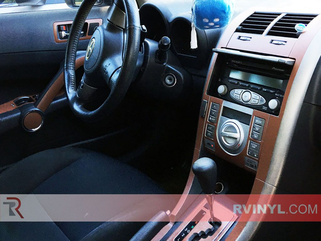 2007 Scion tC Brown Leather Dash Kit Upgrade Scion tc