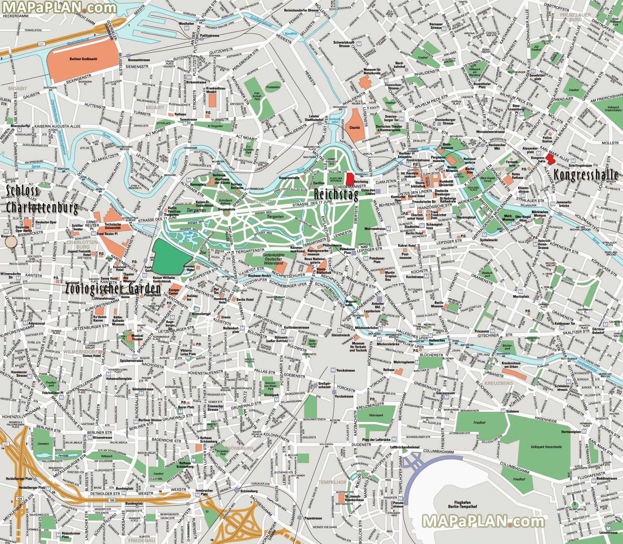 berlintoptouristattractionsmap15mustdomapreichstagzoo