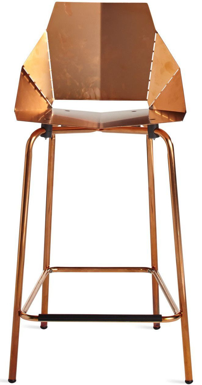 Copper Real Good Counterstool Copper Bar Stools Modern Counter Stools Copper Stool