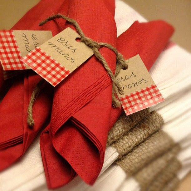 napkins for a party