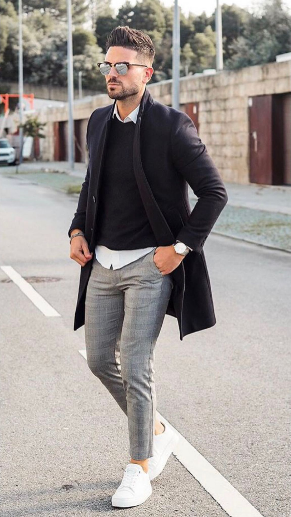 25 Awesome street style outfits! | Mens street style, Mens