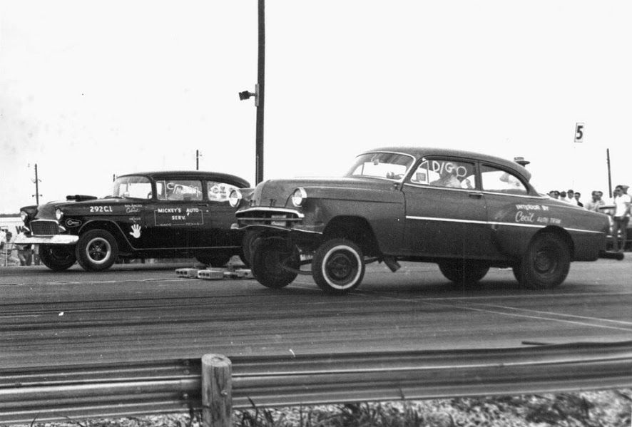 Old time drag race. The tires they used amazes me. | Wheels ...