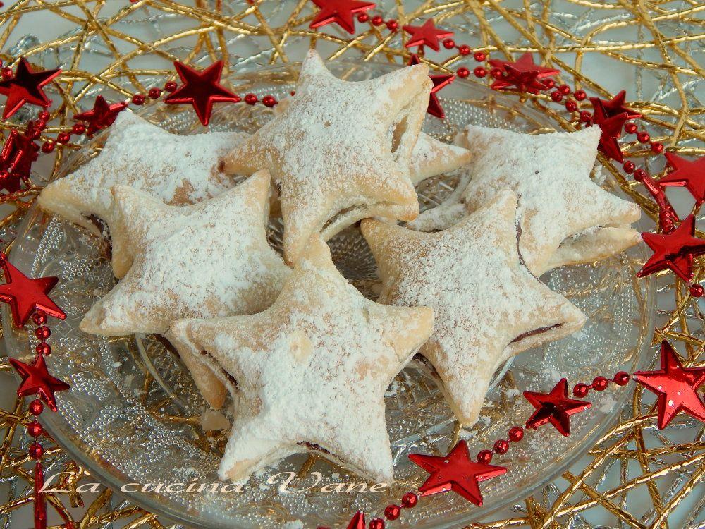 Stelle Di Natale Dolci.Stelle Di Sfoglia E Nutella Dolce Natale Capodanno Wed