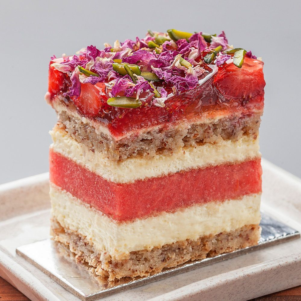 The Strawberry Watermelon cake is one of the most famous