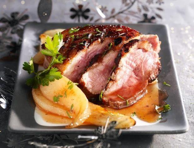 Une autre façon de cuisiner le magret de canard... avec des poires ! Cela tombe bien, elles sont de saison        Ingrédients pour 4 personn...