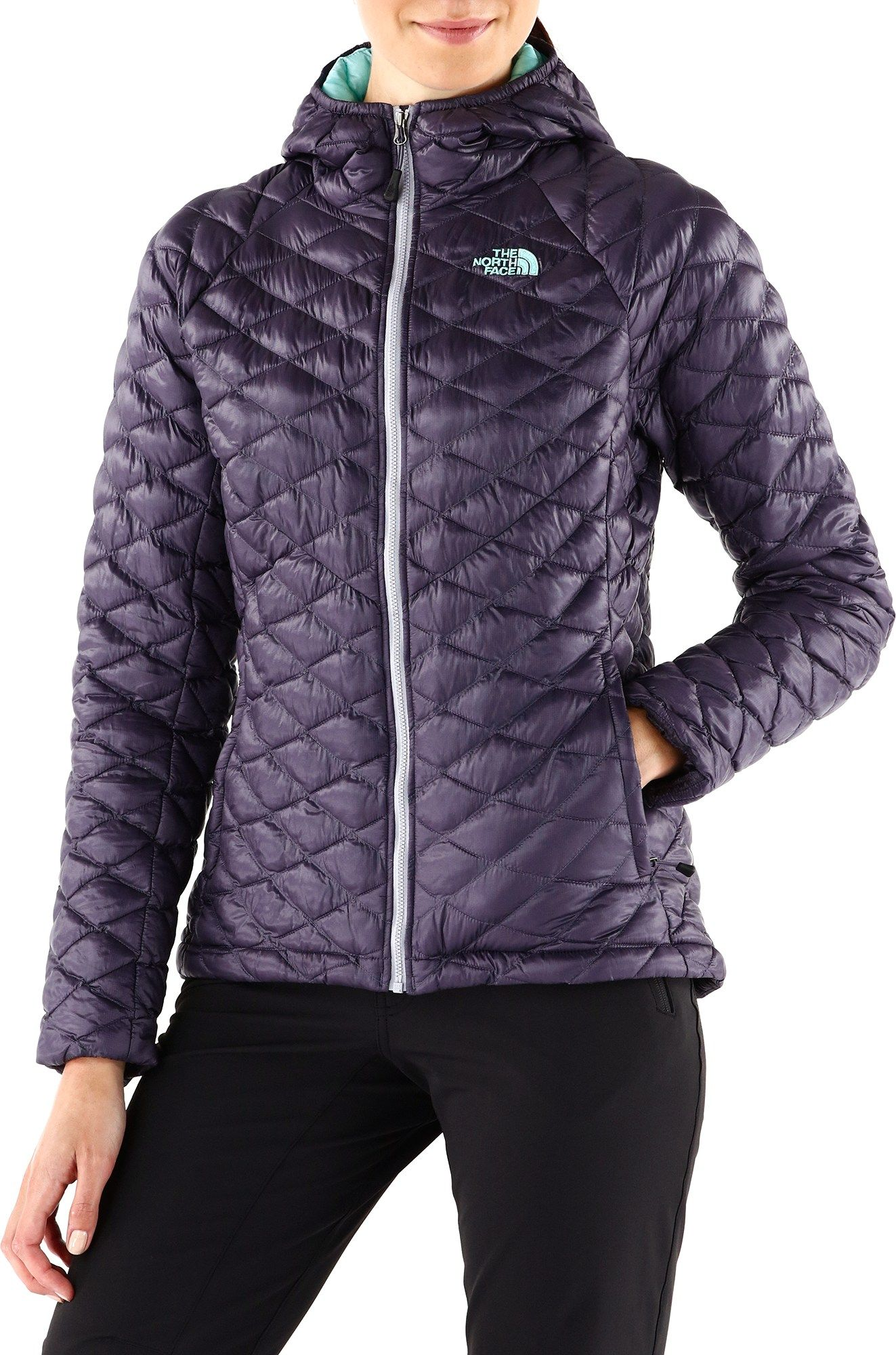 The North Face Thermoball Hoodie Jacket Women S Rei Co Op Hoodie Jacket Women Jackets For Women Hoodie Jacket [ 2000 x 1323 Pixel ]