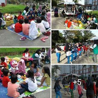 GPMB Provinsi Kalimantan Timur: Kegiatan Mendongeng, dan Membaca di GOR Sempaja