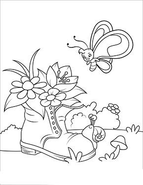 Ausmalbild Fruhling Schmetterling Mit Blumen Ausmalbilder Fruhling Lustige Malvorlagen Kostenlose Erwachsenen Malvorlagen