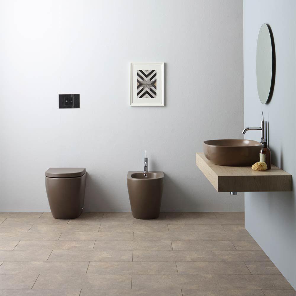 Un bagno colorato Bagni colorati, Progettazione bagno