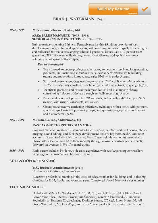 Chronological Resume Example Elegant Example Of Chronological