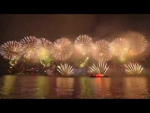 hong kong fireworks 2018 happy new year from hong kong