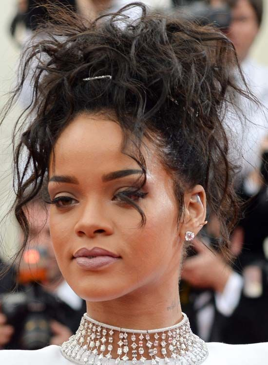 Rihanna Hairstyles rihanna medium straight capless synthetic hair wig 12 inches 50 Best Rihanna Hairstyles