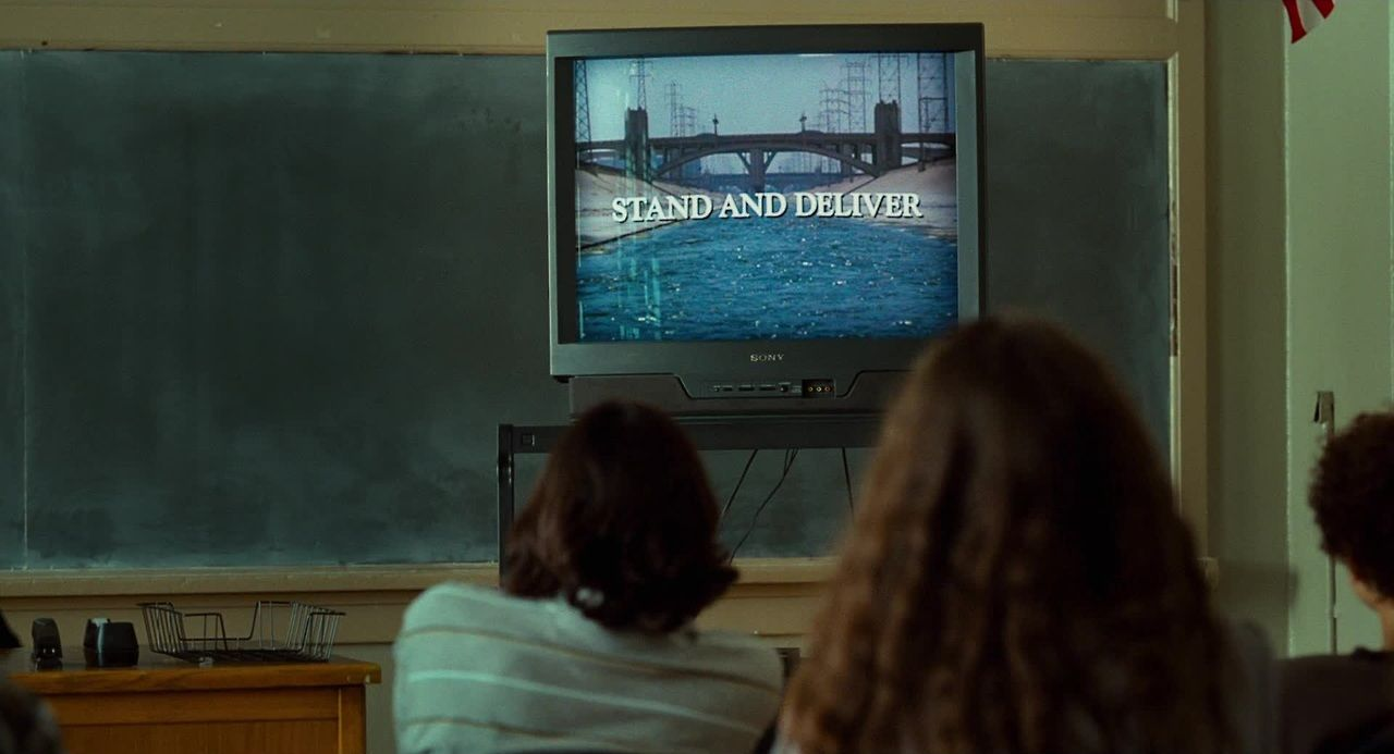 Film in Film: Stand and Deliver (1988) in Bad Teacher (2011)