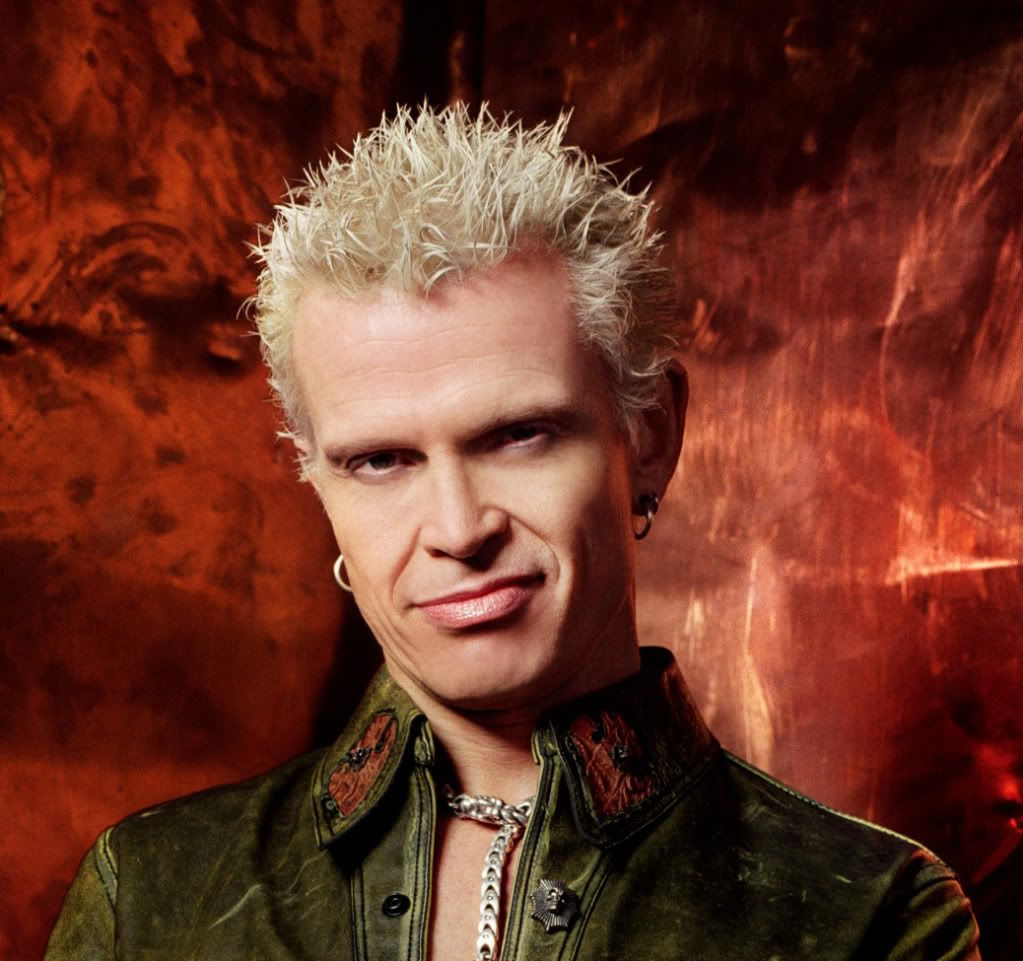 Billy Idol - English Rock Musician    http://vegetarianbody.com/resources/v-interesting-people/