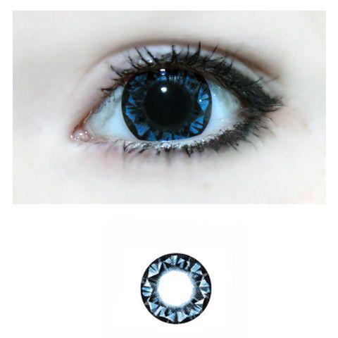 Xtra Super Diamond 2Tone -Sininen -Värilliset Piilolinssit -1 Vuosi -PARI!!