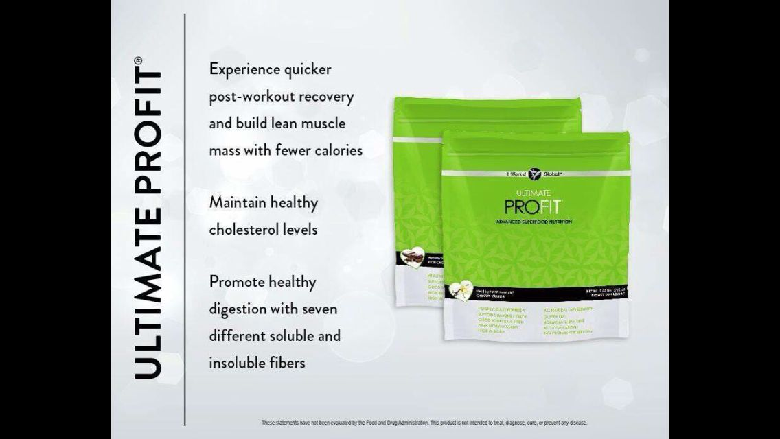 Protein shakes from it works promote healthy digestion