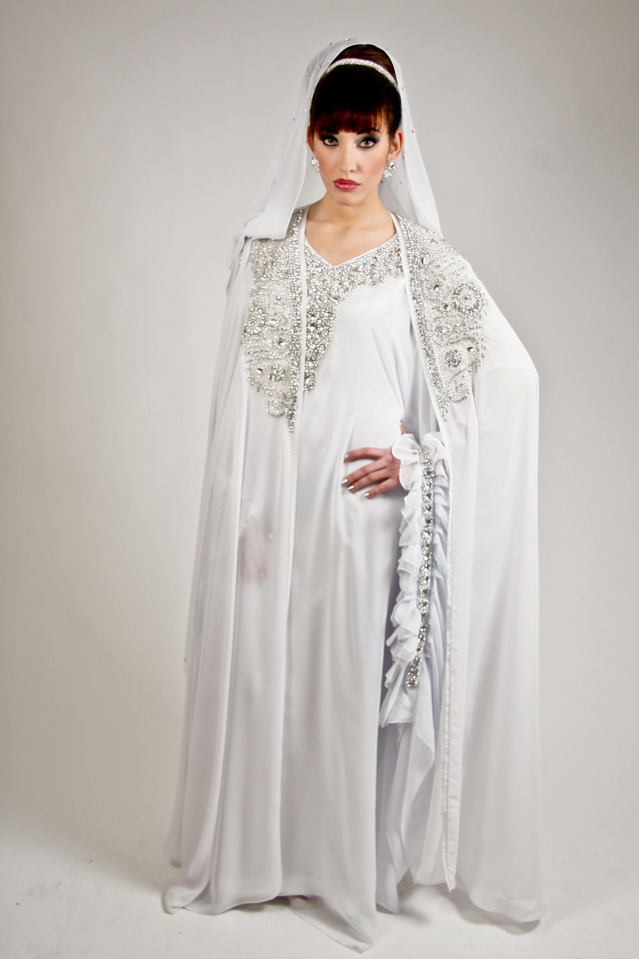 Robe de dubai mariee