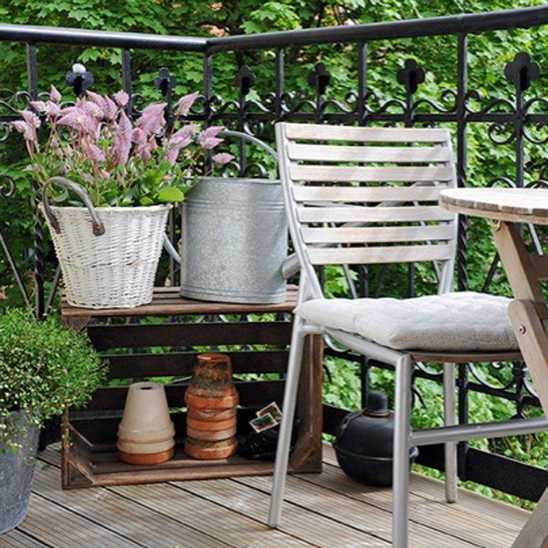 Aménager et décorer un petit balcon avec succès : toutes nos idées